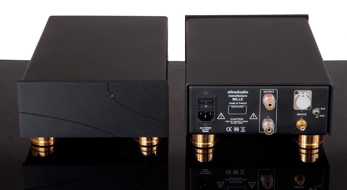 Elins Audio Mille - dzielona amplifikacja