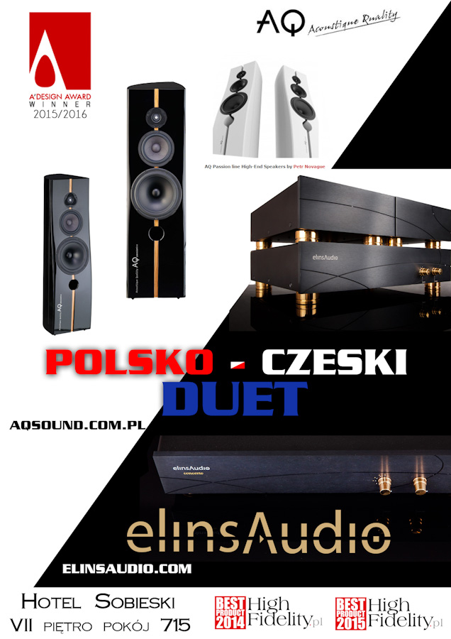 elinsAudio podczas Audio Video SHow 2017